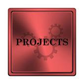 Icona di progetti — Foto Stock