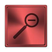 Oddálit ikonu — Stock fotografie