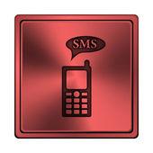 ícone de sms — Foto Stock