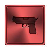 Broń ikona — Zdjęcie stockowe