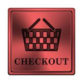 Checkout icon — Stock fotografie