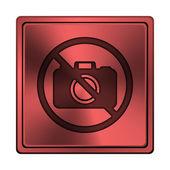 Verboden camera-icoontje — Stockfoto