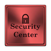 Security center icon — Stock Photo
