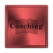 Icona di coaching — Foto Stock