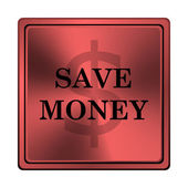 Save money icon — Stok fotoğraf