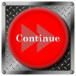 Stock Photo: Continue icon