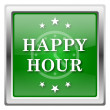 Stock Photo: Happy hour icon