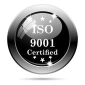 ISO9001 icon — Stock Photo
