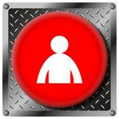 Ikona profilu uživatele — Stock fotografie