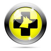 Icona veterinaria — Foto Stock