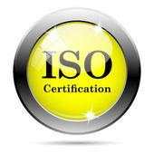 ISO certification icon — Stock Photo