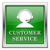 Ikona služby zákazníkům — Stock fotografie