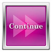 Continue icon — ストック写真
