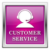 Kunden-service-symbol — Stockfoto