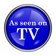 As seen on TV icon — Stock Photo #39039303