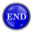 End icon — Stock Photo #39039485