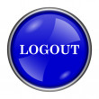 Stock Photo: Logout icon