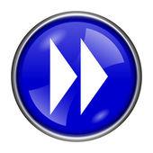 Fast forward sign icon — ストック写真