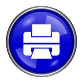Printer icon — Stock Photo