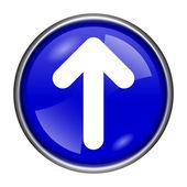 Up arrow icon — Stock Photo