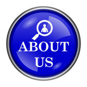 About us icon — Stock Photo