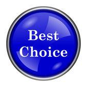Best choice icon — Stockfoto