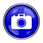 Photo camera icon — Stock Photo