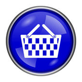 Shopping basket icon — Stock Photo