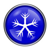 Snowflake icon — Stockfoto