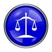 Ikona równowagi — Zdjęcie stockowe