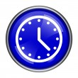 Clock icon — Stock Photo