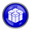 Stock Photo: Gift icon