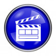 Movie icon — Stock Photo #39040557