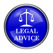 Legal advice icon — Stock Photo #39040733