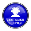 Stock Photo: Customer service icon