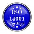 Stock Photo: ISO14001 icon