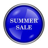 Summer sale icon — Stock Photo