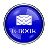 E-book icon — Foto Stock