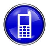 Icône de téléphone mobile — Photo