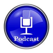 Icono de podcast — Foto de Stock