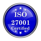 ISO 27001 icon — Stock Photo