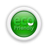 Eco amigável ícone — Foto Stock