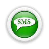 SMS bubble icon — Fotografia Stock