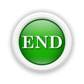 End icon — Stock Photo