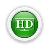 Icono de tv hd — Foto de Stock