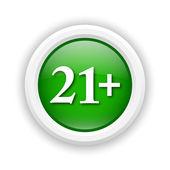 21 plus icon — ストック写真