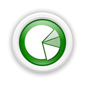Chart pie icon — Stock Photo