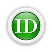 ID icon — Stock Photo