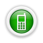 Mobile phone icon — Foto Stock