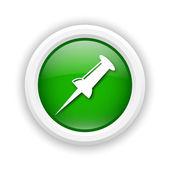 Pin-symbol — Stockfoto
